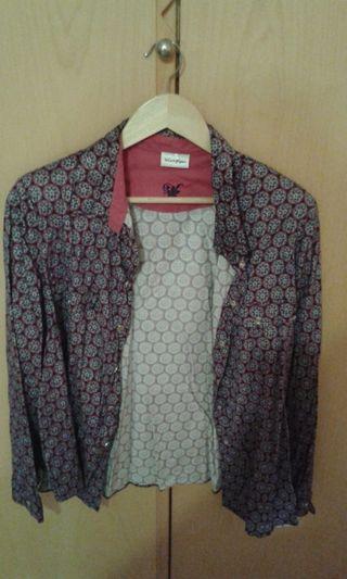 camisas chaqueta y vestido