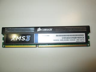 Memoria RAM Corsair 2GB 1600 MHz DDR3