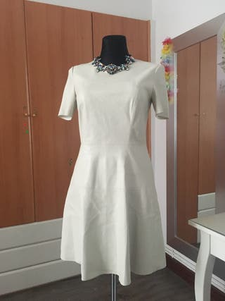 Vestido polipiel Zara M
