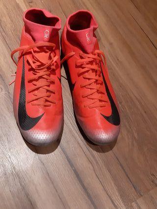 botas de futbol mercurial cr7 talla 44