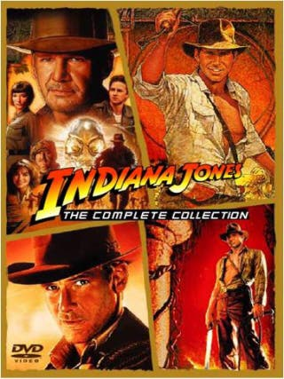 DVD Colección INDIANA JONES (4 películas).-
