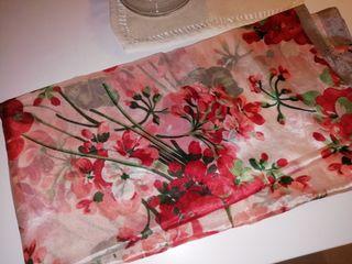 pañuelo flores