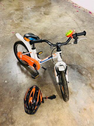 Vendo bici para niñ@, marca KTM.