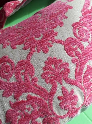 Ultimate Nursing Pillow Pink Flock, by Thruppeny