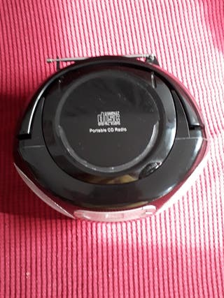 CD Player AM/FM Radio Boombox, by Sainsburys