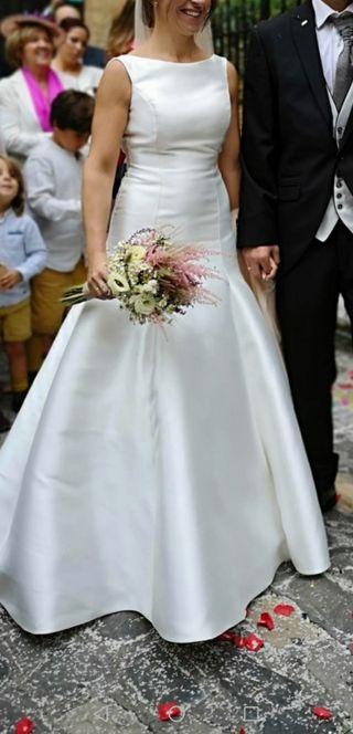Vestido de novia talla 36-38