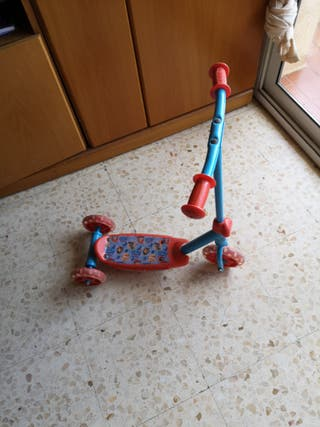 triciclo patin
