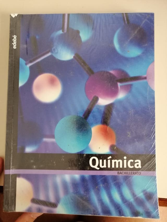 Libro Química Bachillerato Ed. Edebé