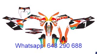 KIT ADHESIVOS KTM 2014-16 EXC-XC-XCF SX, SXF