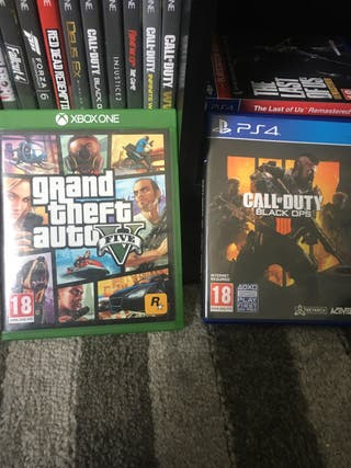 GTA V + COD 4 - 2 FOR £40 OFFER