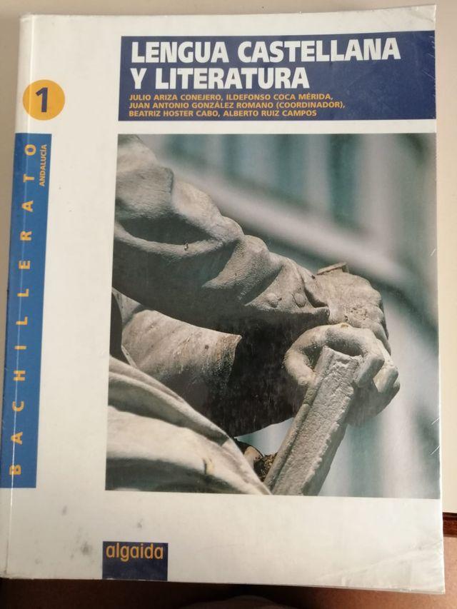 Libro Lengua y Literat 1º Bach Ed Algaida