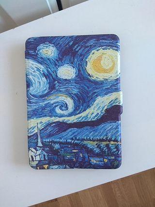 "Funda para e-book, ""La noche estrellada"""