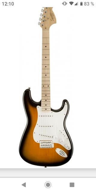 Guitarra eléctrica Squier zurdos