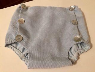 Ranita cubre y jersey Nanos baby azul 3 meses