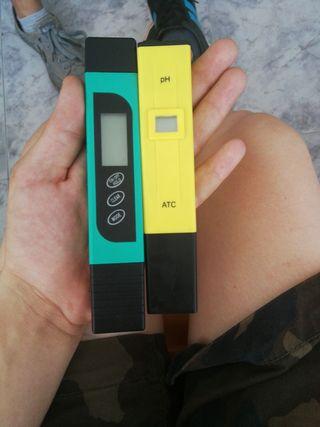Medidor de pH y de Ec