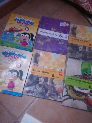 libros sexto de primaria