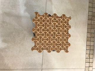 7m2 azulejo dimarmi rete noce de 25x25cm