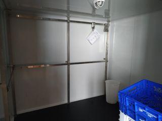 Barras Acero Inoxidable para camara frigorifica.