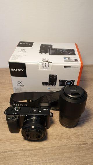 Camara fotos evil Sony Alpha 6000