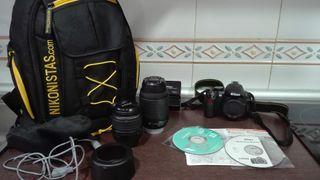 Cámara de Fotos y video Digital NIKON D3100 Reflex