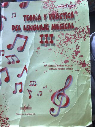 Teoría y práctica del lenguaje musical III , 3