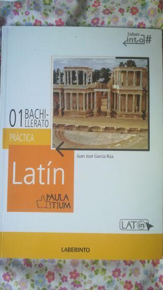 Libro de latin 1 bachillerato, editorial Laberinto