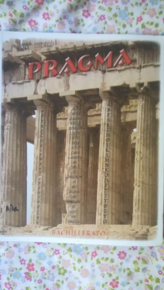 libro de griego, pragma, bachillerato