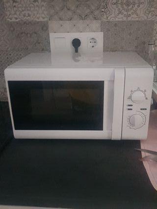 microondas con poco uso