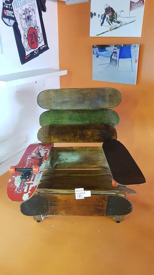 sillón butaca skate