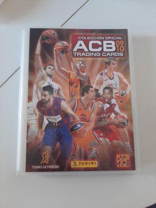Álbum cromos ACB 2009/2010