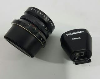 Woigtlander 21mm/4 montura leica M