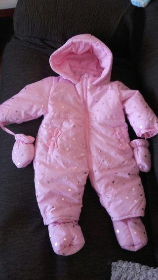 abrigo mono bebe