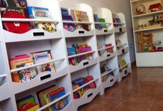 Expositor estanteria libros