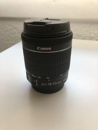 Objetivo Canon EF-S 18-55mm f/3.5-5.6 IS II