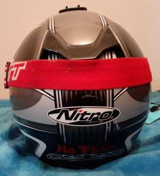 casco y gafas moto cross enduro