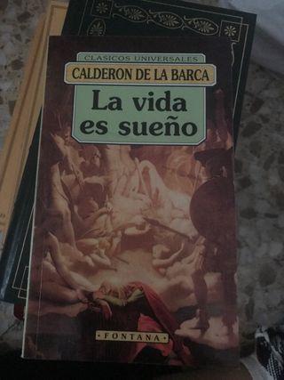 Libro la vida es un sueño , Calderón de la barca