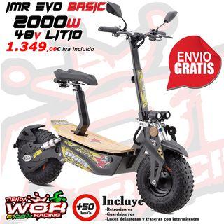 Patinete electrico 2000w 48 V LITIO