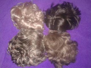 pelucas antiguas cabello natural