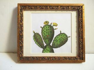 Cuadro cactus peq