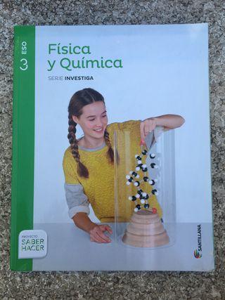 Libro de física y química santillana 3º