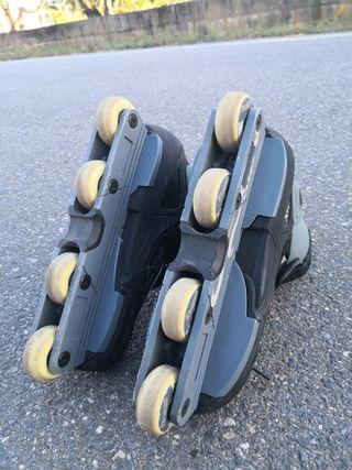 Patines en líneas Skate.