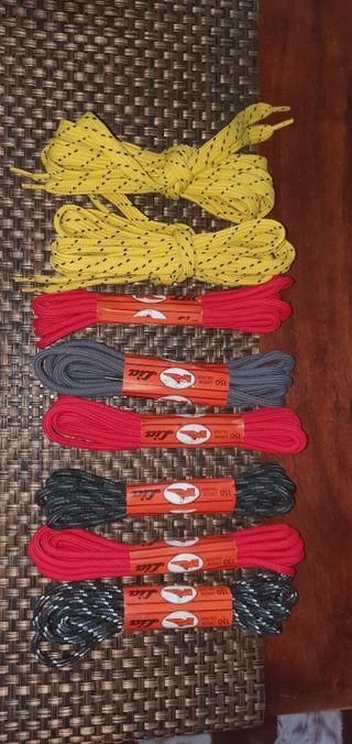 Cordones de botas de 150 cm y 145 cm