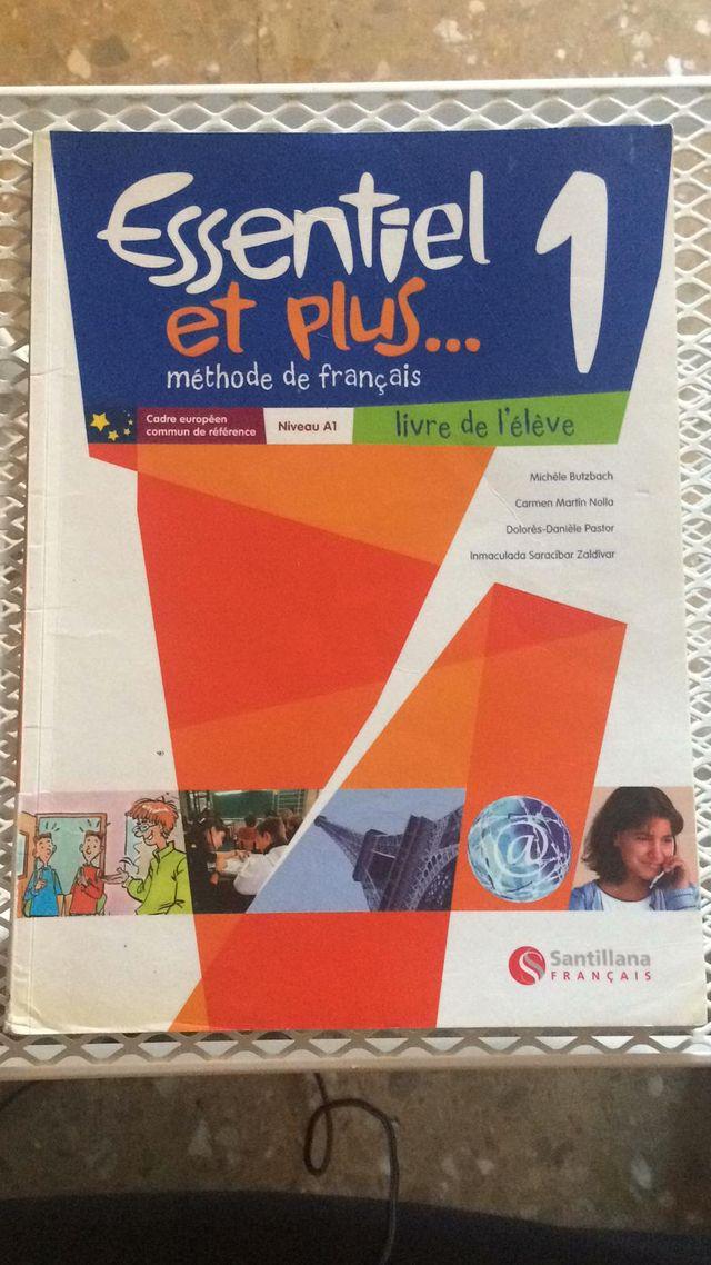 Libro de francés ESSENTIEL ET PLUS 1,ed Santillana
