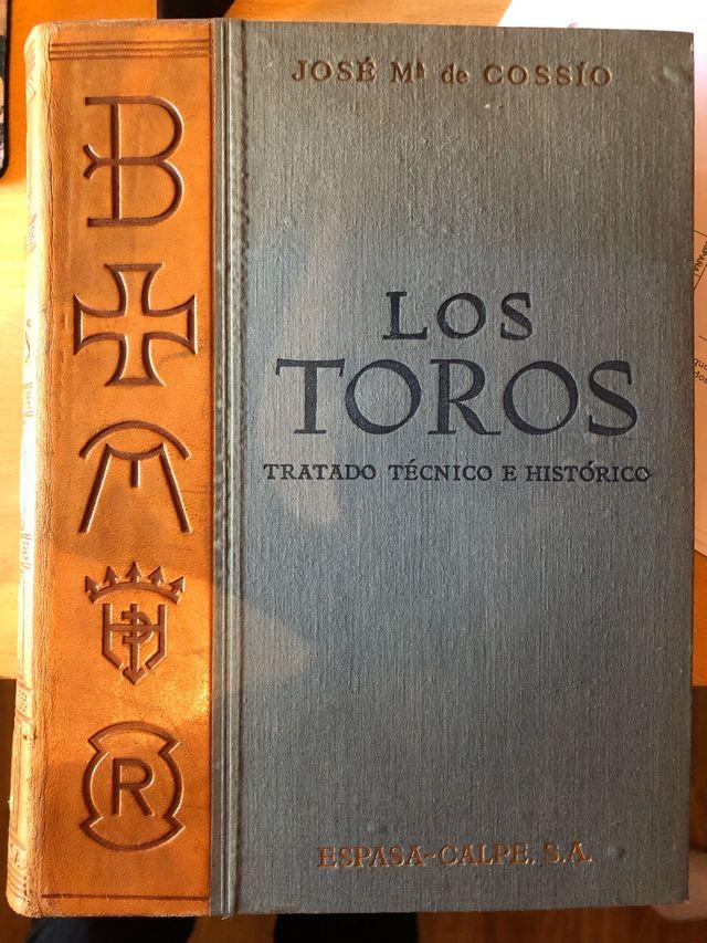 Los Toros Ed. 1961 Cossio, tomos 1-4