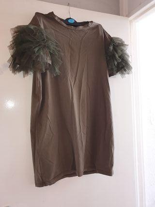 t shirt dress size M/L