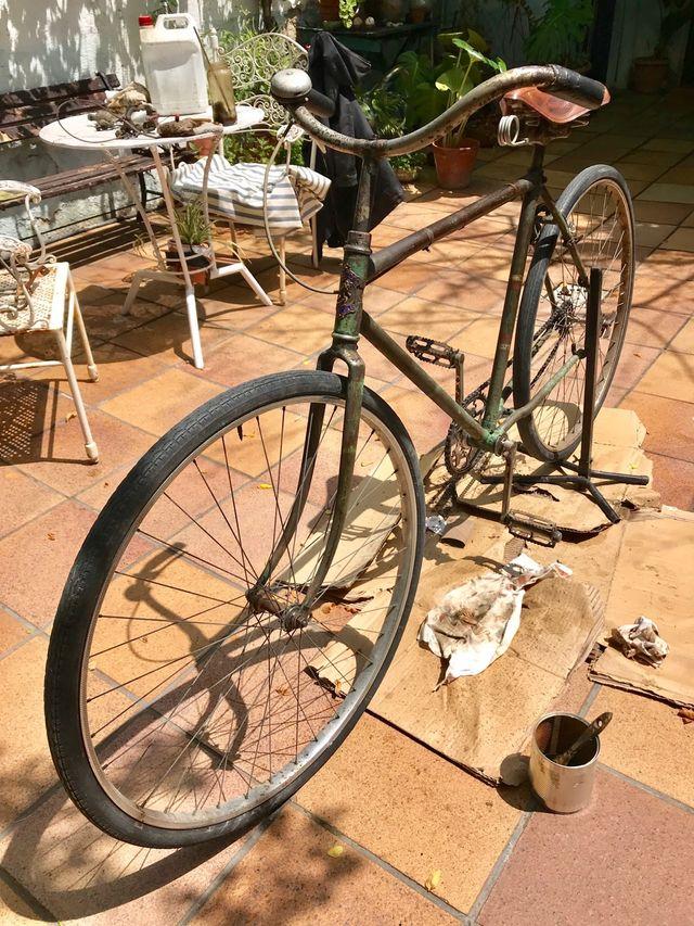 Bicicleta antigua Peugeot