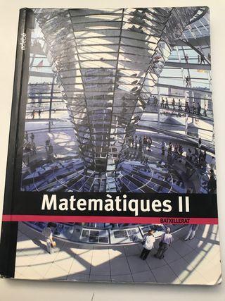 Matemáticas 2 bachillerato edebé