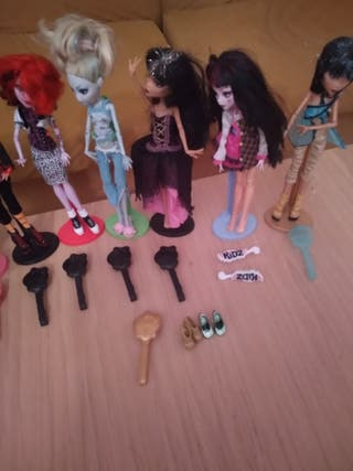 Juguetes Monster high