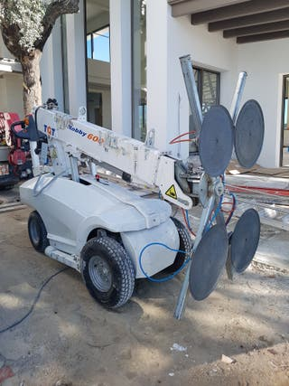 ROBOT PARA CRISTALES COLOCACION