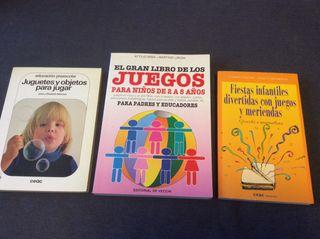 Lote Libros Juegos